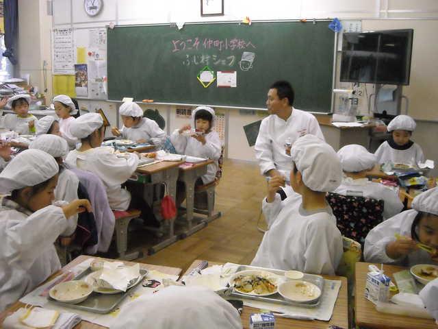 さいたま市立仲町小学校 平成28年11月22日(火) 地元シェフ ...